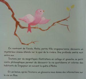 synopsis Piriou l'oiseau de Singapour