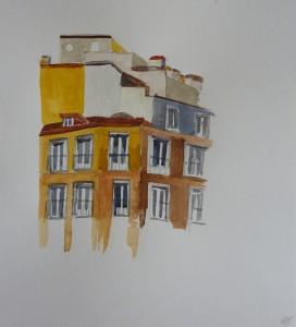Immeuble de Madrid